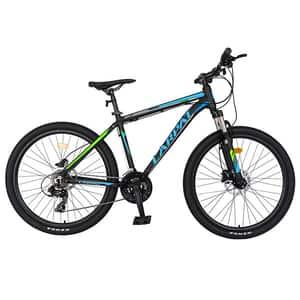"""Bicicleta Mountain Bike CARPAT C2681H 26"""", Aluminiu, negru-albastru"""