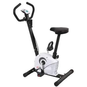 Bicicleta fitness AB FI MB1.3, 10 trepte, greutate maxima 100kg, alb