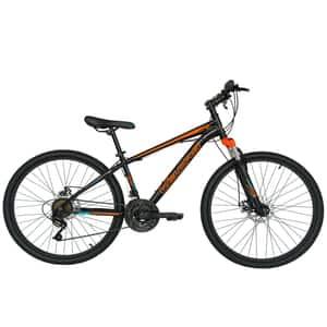 """Bicicleta de munte VELORS V2610A 26"""", Otel, negru-portocaliu"""