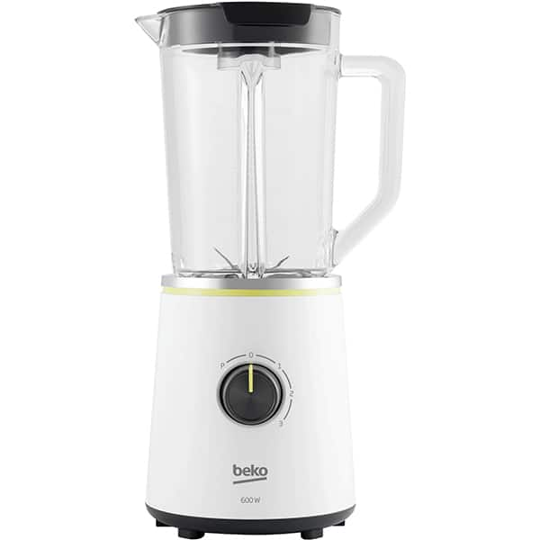 Blender BEKO Foodster TBN7602W, 1.75l, 600W, 3 trepte viteza, alb