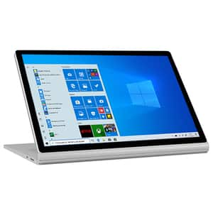 "Laptop 2 in 1 MICROSOFT Surface Book 2, Intel Core i7-8650U pana la 4.2GHz, 13.5"" Touch, 8GB, SSD 256GB, NVIDIA GeForce GTX 1050 2GB, Windows 10 Pro, argintiu"