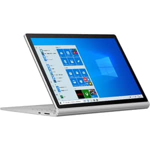 "Laptop 2 in 1 MICROSOFT Surface Book 3, Intel Core i7-1065G7 pana la 3.9GHz, 13.5"" Touch, 16GB, SSD 256GB, NVIDIA GeForce GTX 1650 Max-Q Design 4GB, Windows 10 Home, platinum"