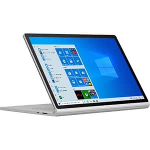 "Laptop 2 in 1 MICROSOFT Surface Book 3, Intel Core i7-1065G7 pana la 3.9GHz, 15"" Touch, 32GB, SSD 512GB, NVIDIA GeForce GTX 1660 Ti Max-Q Design 6GB, Windows 10 Home, platinum"