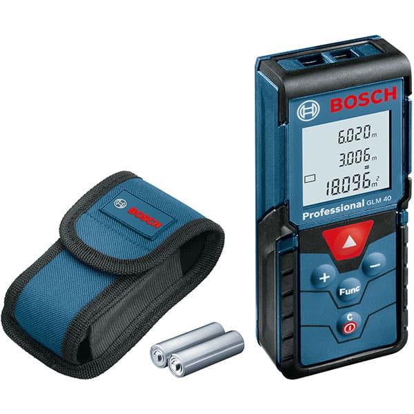 Telemetru cu laser Bosch Professional GLM 40 0601072900, 40m, +/- 1.5mm precizie, 635nm dioda laser, IP 54