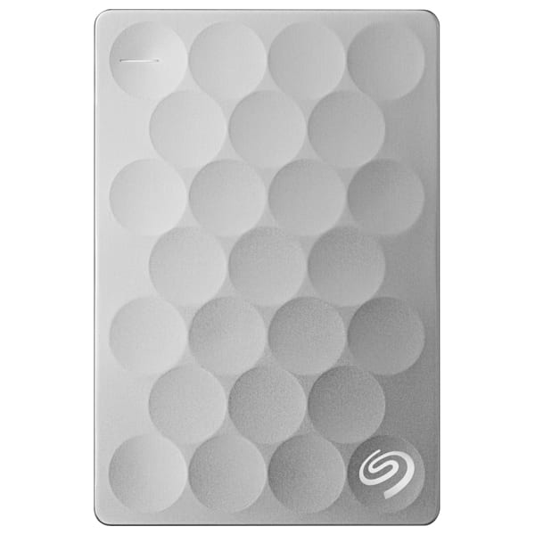 Hard Disk Drive portabil SEAGATE Backup Plus Ultra Slim STEH1000200, 1TB, USB 3.0, platinum