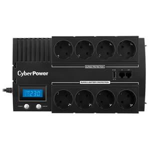 Unitate UPS Green Power CYBERPOWER BR1000ELCD, 1000VA, LCD, Schuko