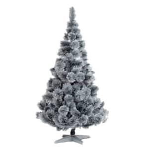 Brad artificial BRAZIDELUX Alpin, 220 cm, alb-negru