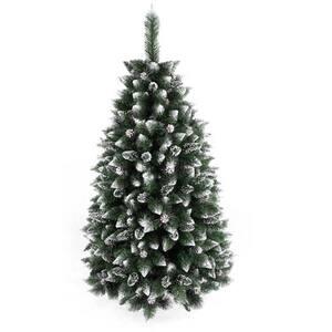 Brad artificial BRAZIDELUX Navara, 120 cm, verde-alb