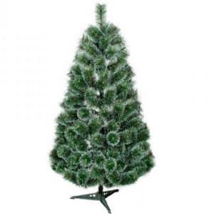 Brad artificial BRAZIDELUX Atlanta, 220 cm, verde-alb
