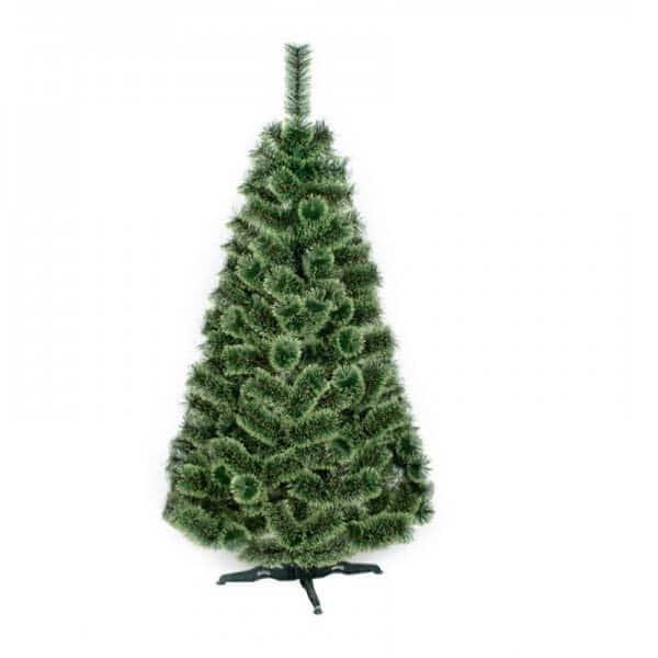 Brad artificial BRAZIDELUX Ontario, 220 cm, verde-alb