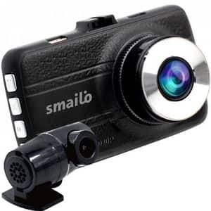 Camera auto DVR fata-spate SMAILO DOUBLEX, Full HD, G-Senzor