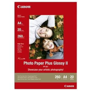 Hartie foto originala CANON Glossy PP-201, A4, 20 coli