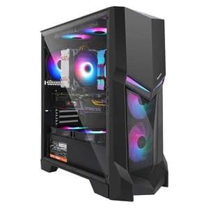 Carcasa PC SEGOTEP Gank 3, USB 3.0, negru