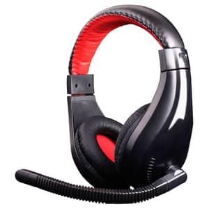 Casti Gaming MARVO H8320, stereo, 3.5mm, negru-rosu