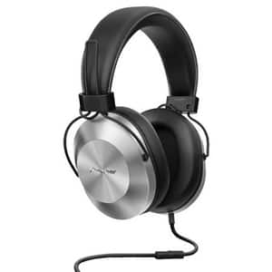 Casti PIONEER SE-MS5T-S, Cu Fir, On-Ear, Microfon, argintiu