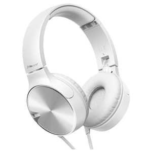 Casti PIONEER SE-MJ722T, Cu Fir, On-Ear, Microfon, alb