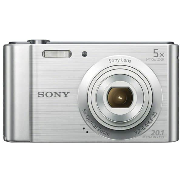 Aparat foto digital SONY DSC-W800S, 20 MP, argintiu