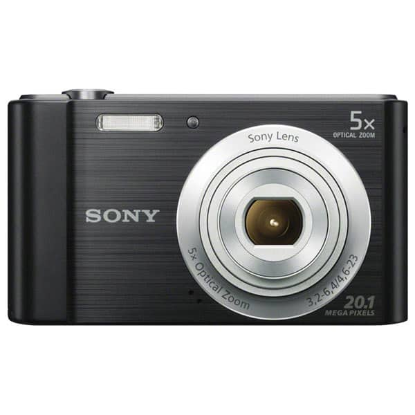Aparat foto digital SONY DSC-W800B, 20 MP, negru