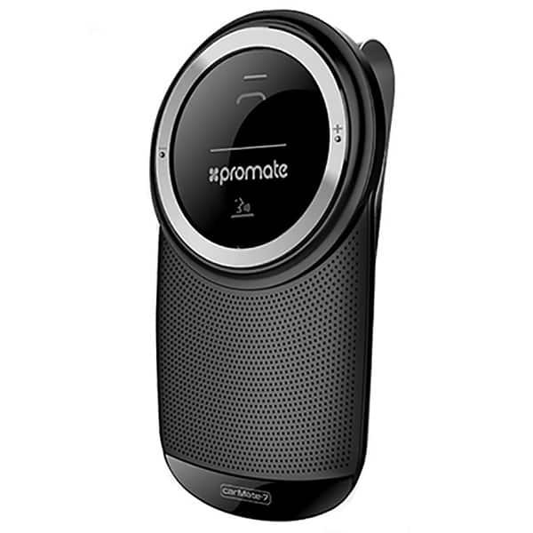 Car Kit PROMATE CARMATE 7, Bluetooth, negru
