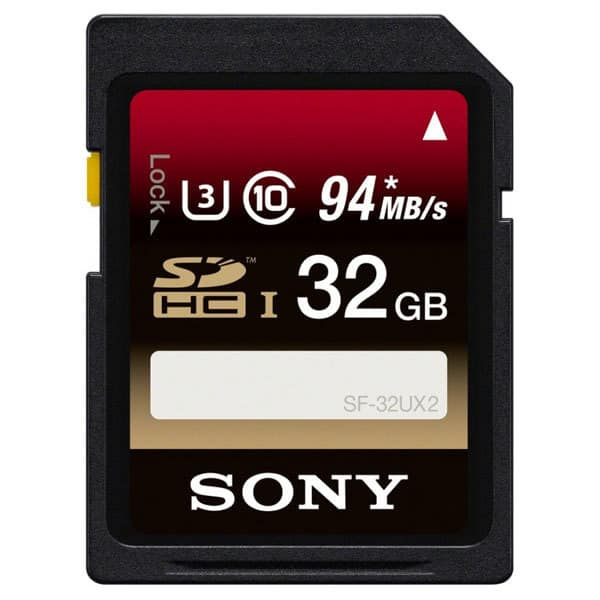 Card de memorie SONY SF32UX2, SDHC, 32GB, 94 Mb/s, clasa 10 UHS-I