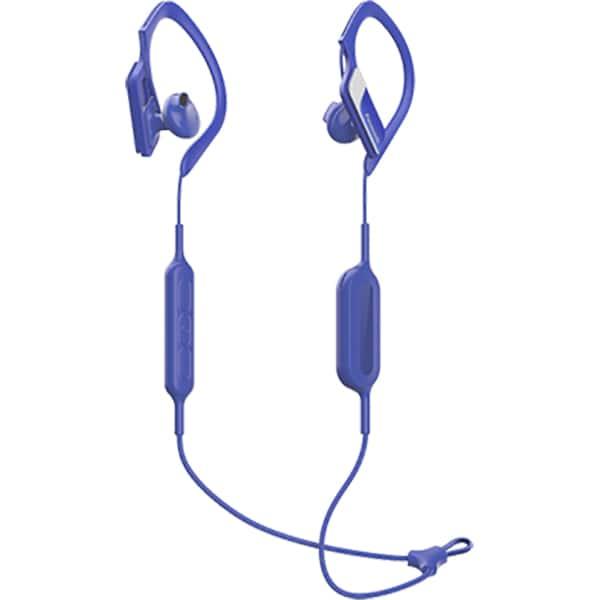 Casti PANASONIC RP-BTS10E-A, Bluetooth, In-Ear, Microfon, albastru