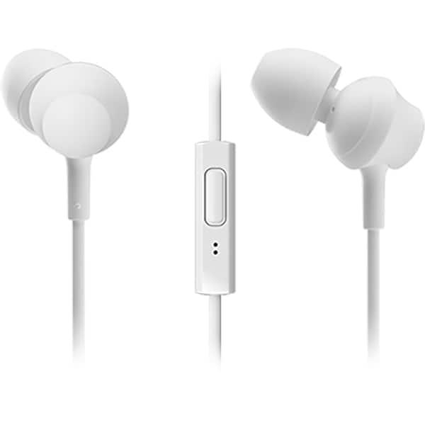 Casti PANASONIC RP-TCM360E-W, Cu Fir, In-ear, Microfon, alb