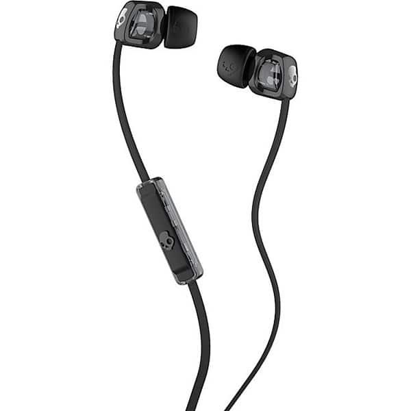 Casti SKULLCANDY Smokin'Buds 2 S2PGFY-003, Cu Fir, In-Ear, Microfon, negru