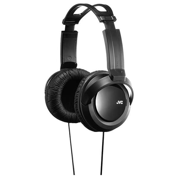 Casti JVC HA-RX330, Cu Fir, Over-Ear, negru