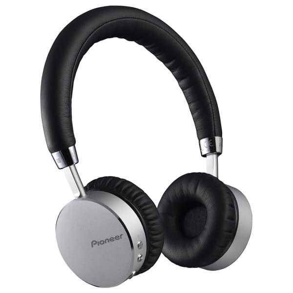 Casti PIONEER SE-MJ561BT-S, Bluetooth, NFC, On-Ear, Microfon, negru