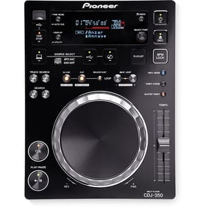 CD player DJ PIONEER CDJ-350, negru