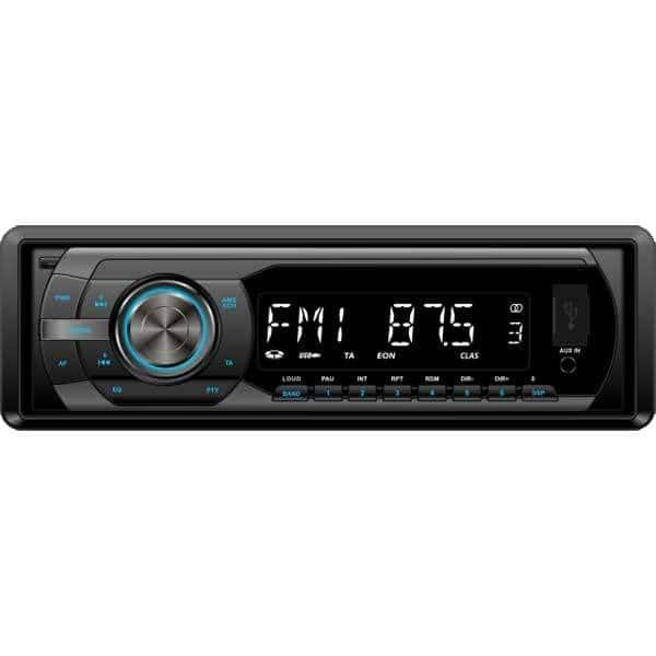 Radio MP3 auto SMAILO Music X2, 4x40W, USB, iluminare albastru