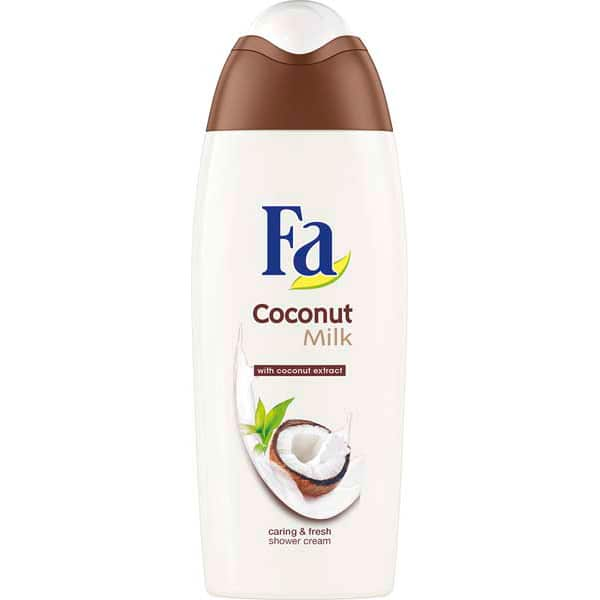 Gel de dus FA Coconut Milk, 400ml