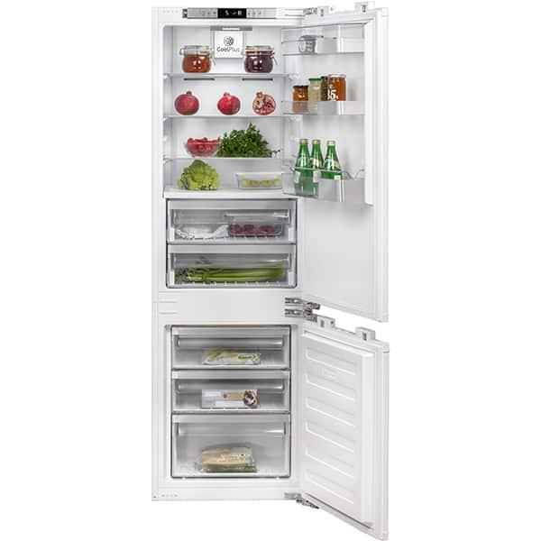 Combina frigorifica incorporabila GRUNDIG GKN I15720, Duo-cooling No Frost, 237 l, H 177.7 cm, Clasa A++, alb