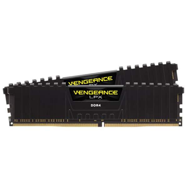 Memorie desktop CORSAIR Vengeance LPX Black, 2x8GB DDR4, 3200MHz, CL16, CMK16GX4M2B3200C16