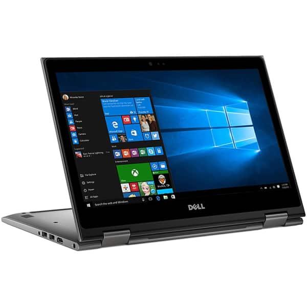 "Laptop 2 in 1 DELL Inspiron 5579, Intel Core i7-8550U pana la 4.0GHz, 15.6"" Full HD Touch, 16GB, SSD 512GB, Intel UHD Graphics 620, Windows 10 Pro"