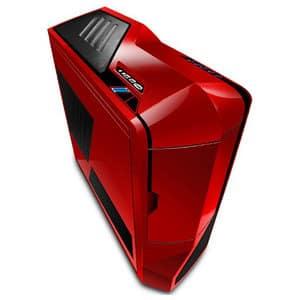 Carcasa NZXT Phantom Red, USB 3.0, fara sursa, rosu