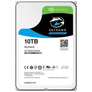 Hard Disk desktop SEAGATE SkyHawk Surveillance 10TB, 7200RPM, SATA3, 256MB, ST10000VX0004