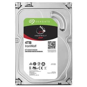 Hard Disk NAS SEAGATE IronWolf, 4TB, 5900RPM, SATA3, 64MB, ST4000VN008
