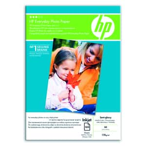 Hartie foto HP Everyday Semi-gloss Q2510HF, A4, 100 coli