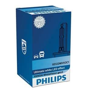Bec auto Xenon PHILIPS D2R WhiteVision gen2