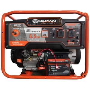 Generator electric DAEWOO GDK7500E, 7500W, 4 timpi, benzina, autonomie 20h