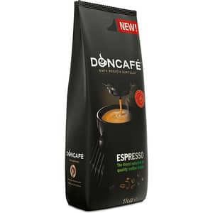 Cafea boabe DONCAFE Espresso 302589, 1000gr