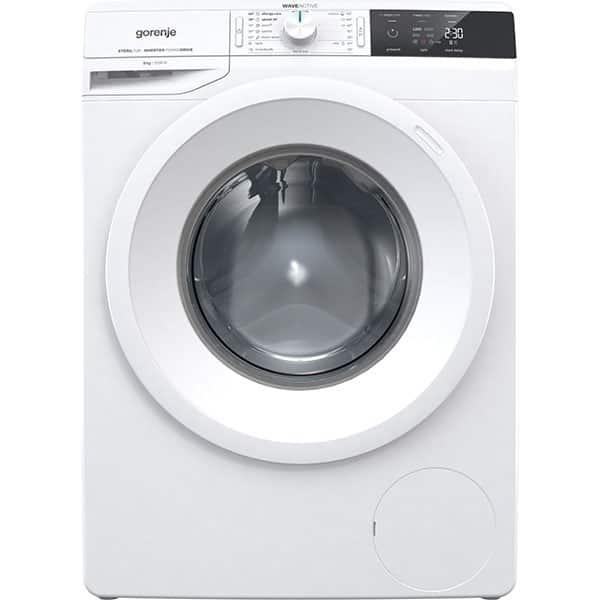 Masina de spalat rufe frontala GORENJE WEI823, WaveActive, 8kg, 1200rpm, Clasa A+++, alb