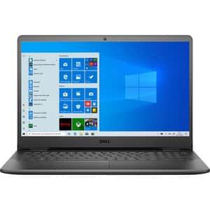 """Laptop DELL Vostro 3500, Intel Core i7-1165G7 pana la 4.7GHz, 15.6"""" Full HD, 8GB, SSD 512GB, NVIDIA GeForce MX330 2GB, Windows 10 Pro, negru"""