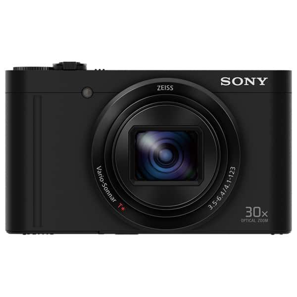 Aparat foto digital Cyber-shot SONY DSC-WX500B, 18.2 MP, Full HD, Wi-Fi, negru