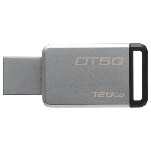 Memorie USB KINGSTON DataTraveler 50, 128GB, USB 3.1, argintiu