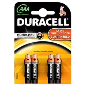 Baterii DURACELL AAAK4 Basic Duralock, 4 bucati