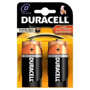 Baterii DURACELL D Basic Duralock, 2 bucati