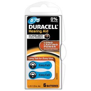 Baterii zinc-aer DURACELL DA 675 pentru aparat auditiv