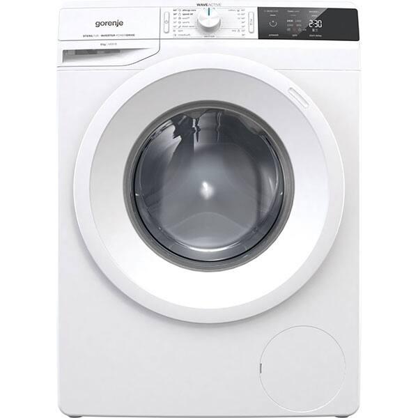 Masina de spalat rufe frontala GORENJE WEI843, WaveActive, 8kg, 1400rpm, Clasa A+++, alb